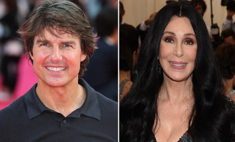Tom y Cher mantuvieron una relación aun a pesar de que él era 16 años menor que ella.