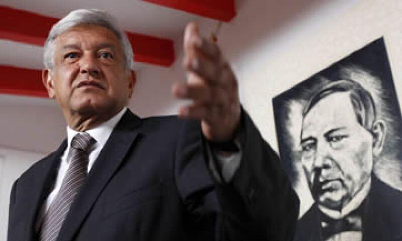 Manuel Clouthier es una persona honesta, íntegra, un hombre con criterio, que no va a solapar nada, dijo López Obrador. (Foto: Notimex)