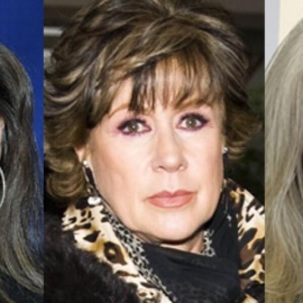 Thalía, Laura Zapata y Ernestina Sodi se distanciaron luego del secuestro de las dos últimas.