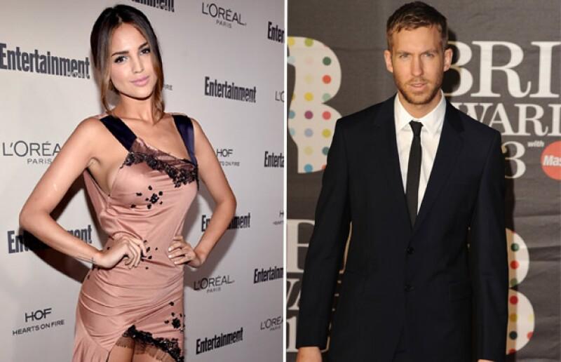 La mexicana y el escocés han despertado rumores de romance tras ser vistos juntos en Los Ángeles.