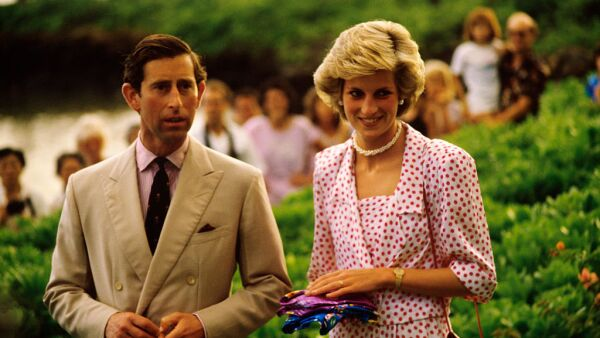 Prince Charles and Princess Diana in Hawaii