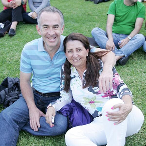 Rodrigo y Amira Avendaño