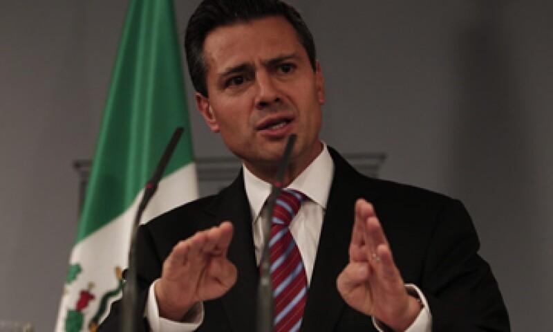Enrique Peña Nieto, presidente electo de México, descarto que su plan de reforma energética incluya la privatización de Pemex.  (Foto: Notimex)