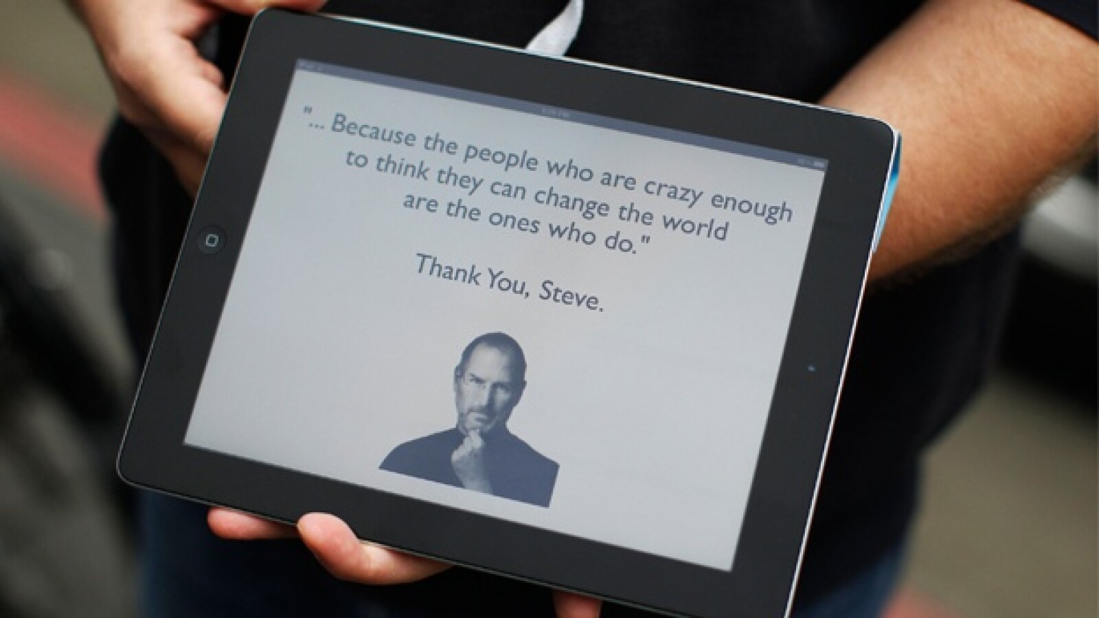 teve jobs 2011 thank you steve