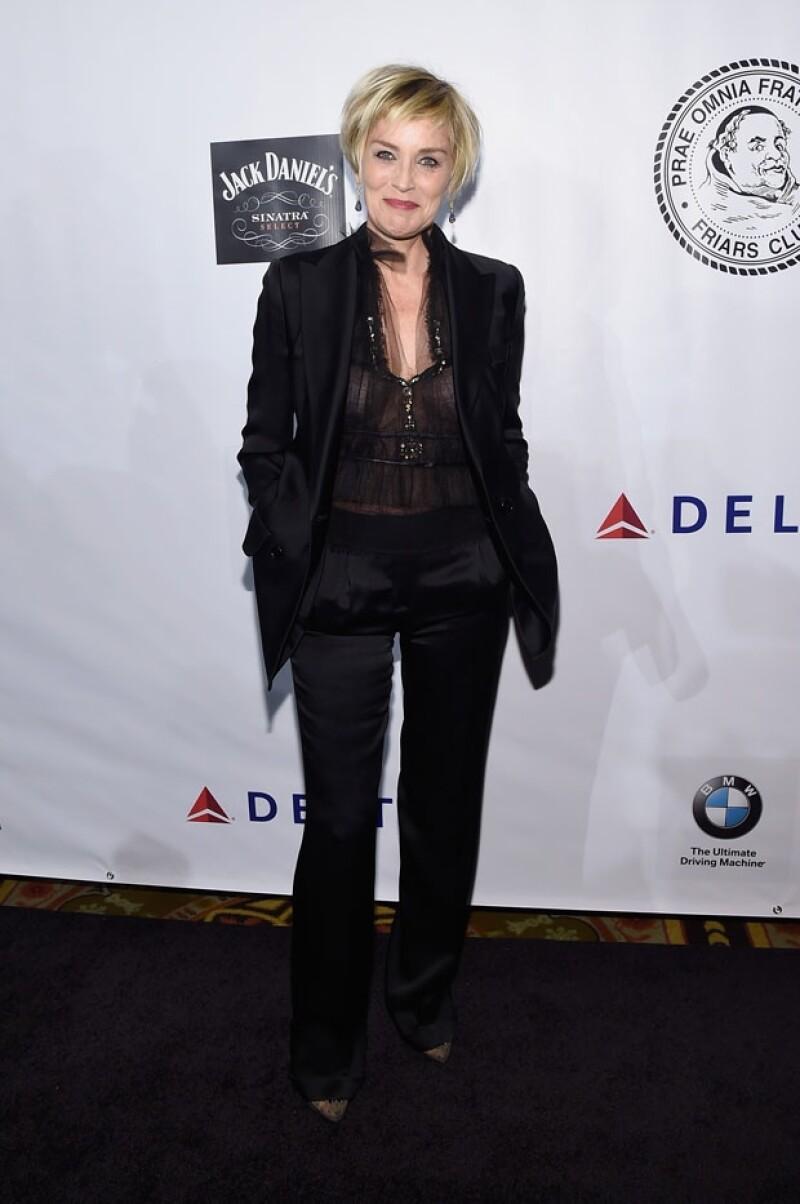 La actriz estadounidense asistió a una gala benéfica en Nueva York el pasado lunes en la que se dice, coincidió con Nick Loeb.