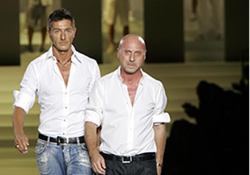 Los diseñadores Dolce & Gabanna están presentes con una exhibición expecial. (Foto: AP)