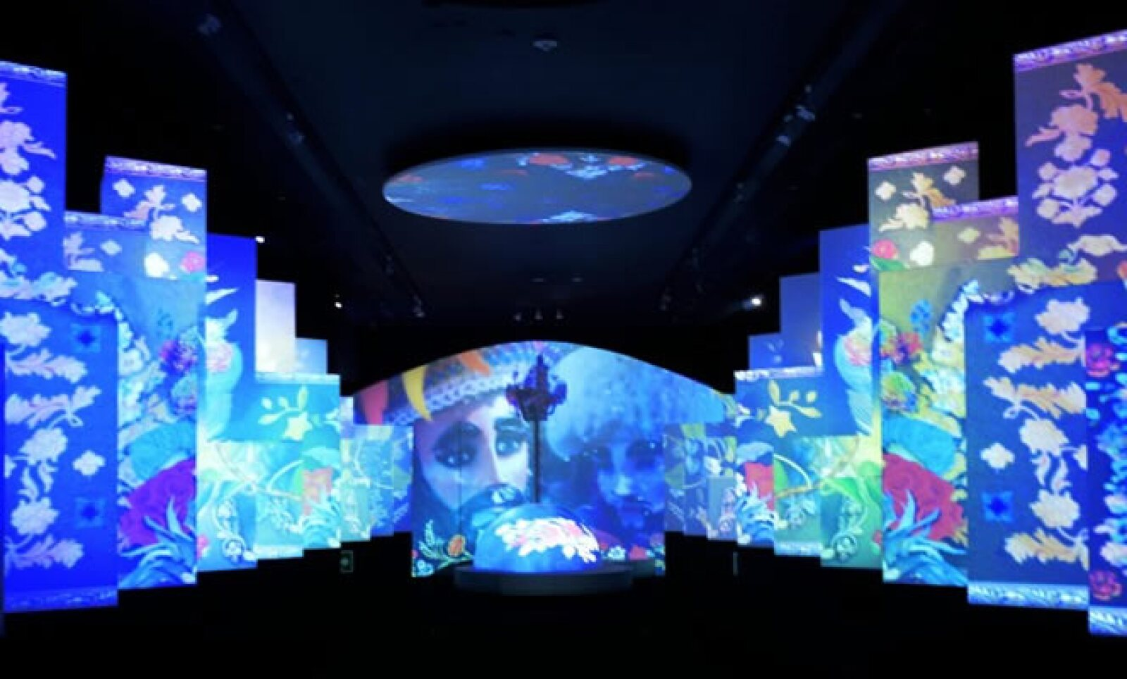 En la sala de 400 metros se concentran 41 sitios, entre naturales y culturales, en una presentación de 27 minutos con técnicas multimedia.
