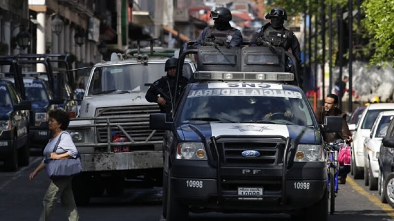policia federal Uruapan