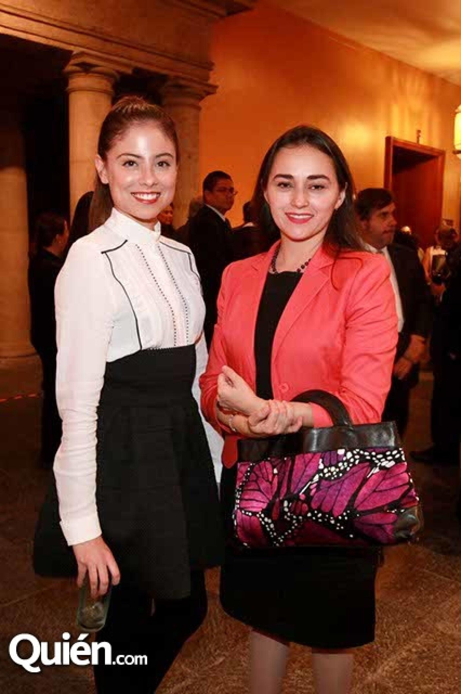 Lucy Bravo y Adriana Figueroa