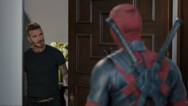 Beckham y Deadpool