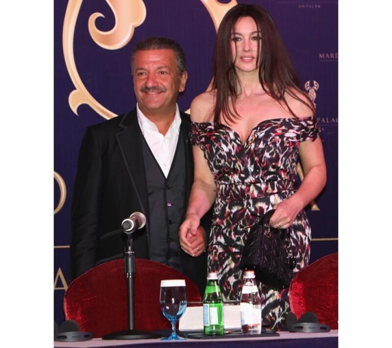Telman Ismailov y Monica Bellucci se conocieron durante la inauguración de un hotel propiedad del magnate. Los rumores dicen que desde entonces mantienen una relación.