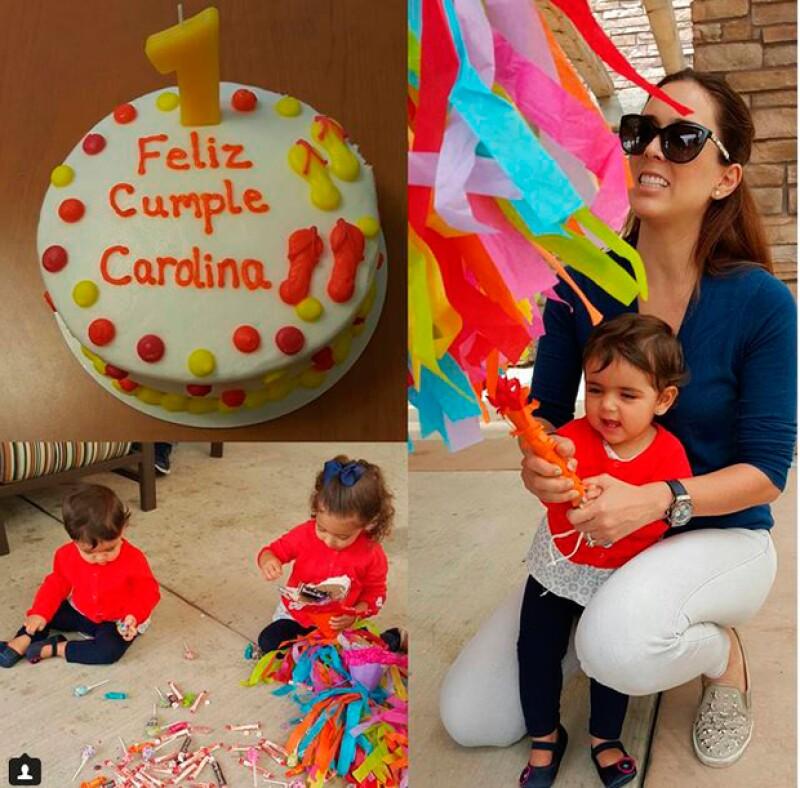 Caro celebró su cumpleaños rodeada de cariño y con grandes sorpresas.