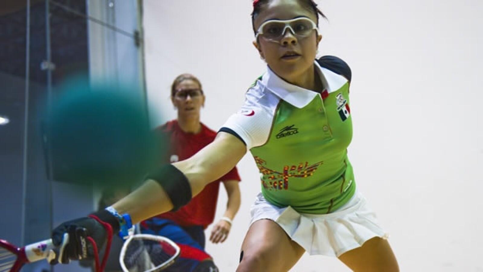 Paola Longoria gana oro en Racquetbol