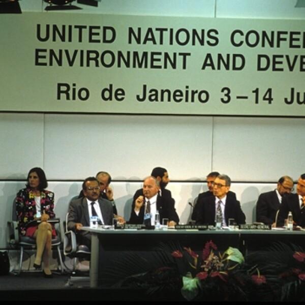 Cumbre de la Tierra Río de Janeiro 1992