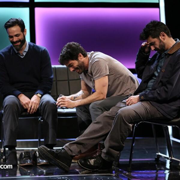 José María Yazpik, Osvaldo Benavides y Luis Roberto Guzmán son los protagonistas de la obra.