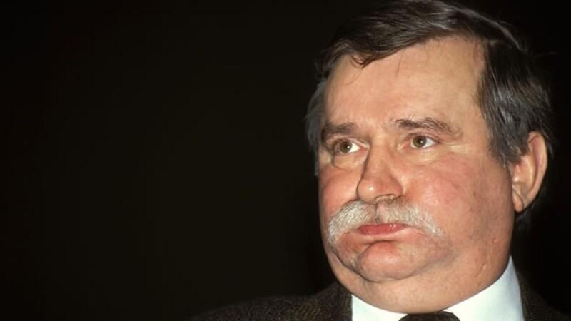 walea en julio de 1991, en polonia