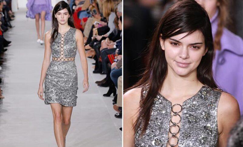 Kendall fue una de las modelos para Michael Kors.
