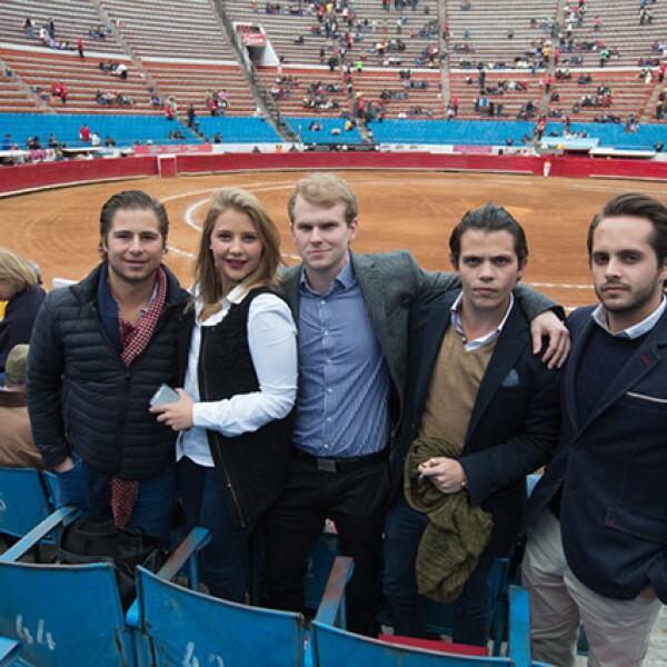 Santiago Bernal,Isabel Bernal,Philippe Boucher,Federico Bernal,Eduardo Coronado