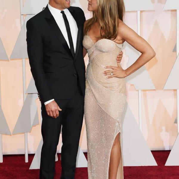 Justin Theroux, Jennifer Aniston.