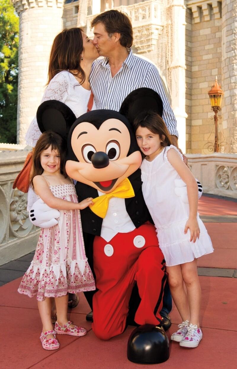 Maki y Juan Soler se casaron en 2003 y de su matrimonio se desprenden las pequeñas Mía y Azul.