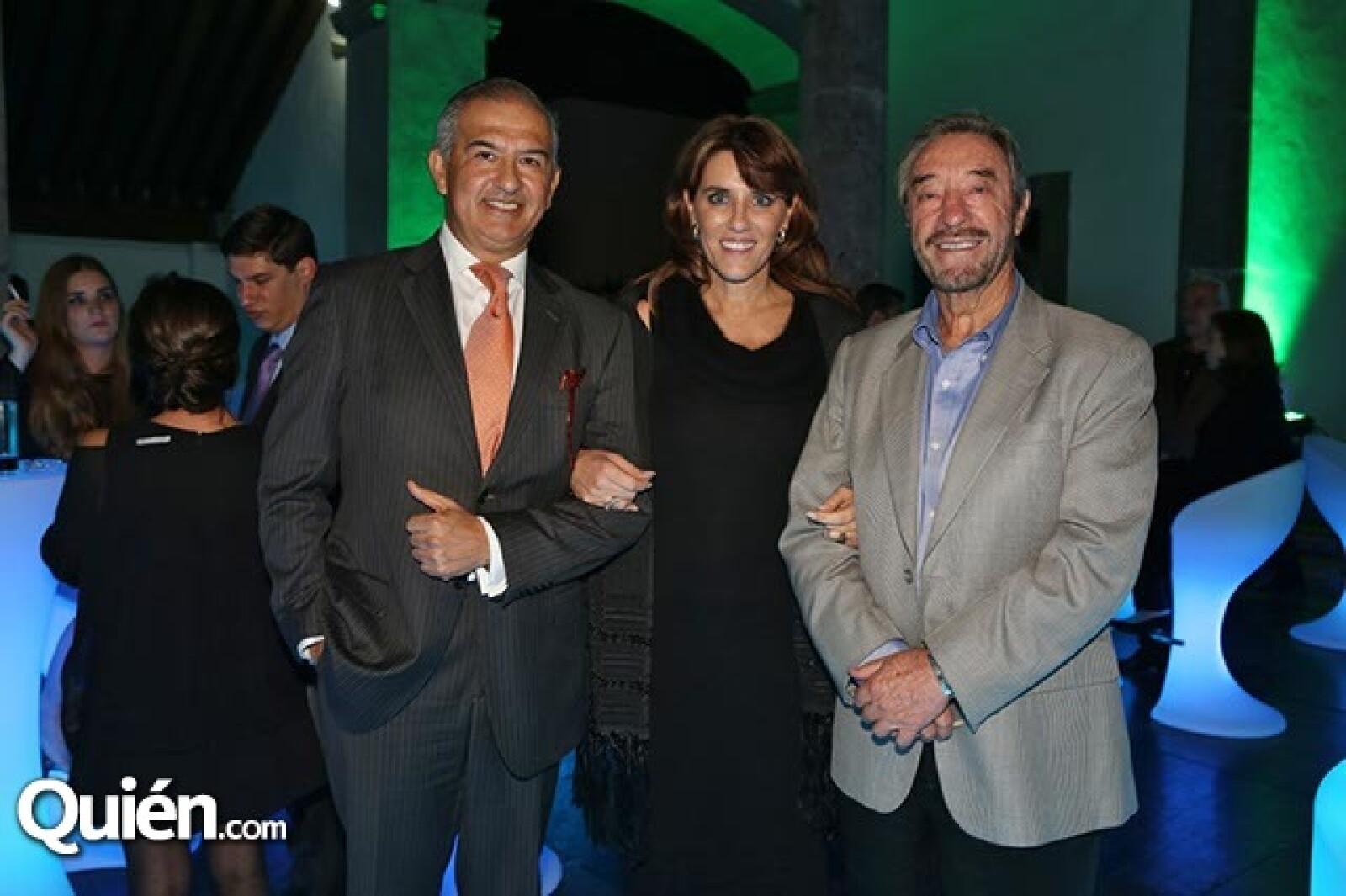 Rafael Niembro, Annie y Víctor Barreiro