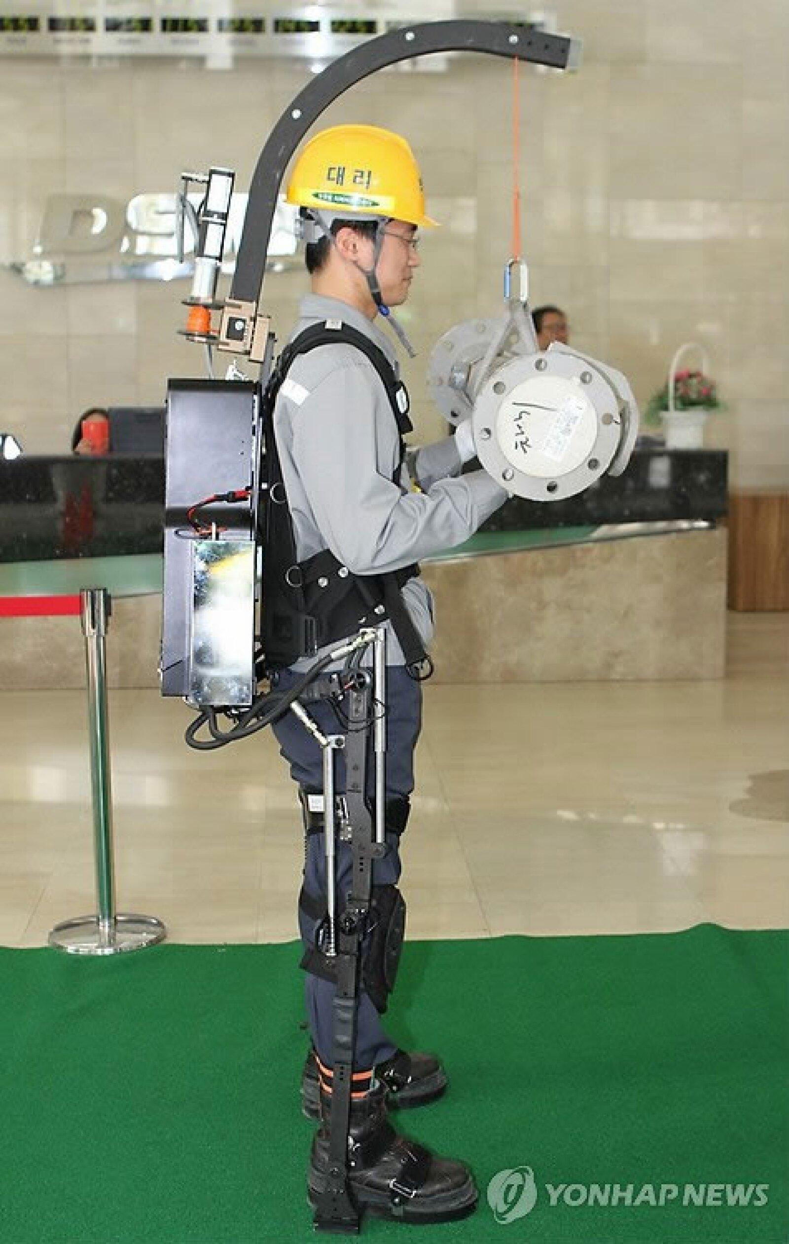 Puede ser usado como si fuera ropa e incrementa la fuerza muscular (Foto: DSME)
