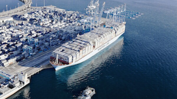 Abre nueva ruta marítima (Foto: Maersk Line)