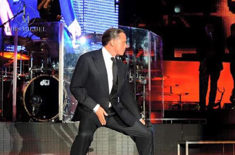 El ídolo mexicano continúa con su gira Deja Vu por Sudamérica.