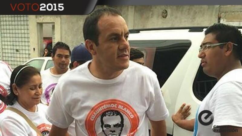 Cuauhtémoc Blanco, candidato a alcalde de Cuernavaca
