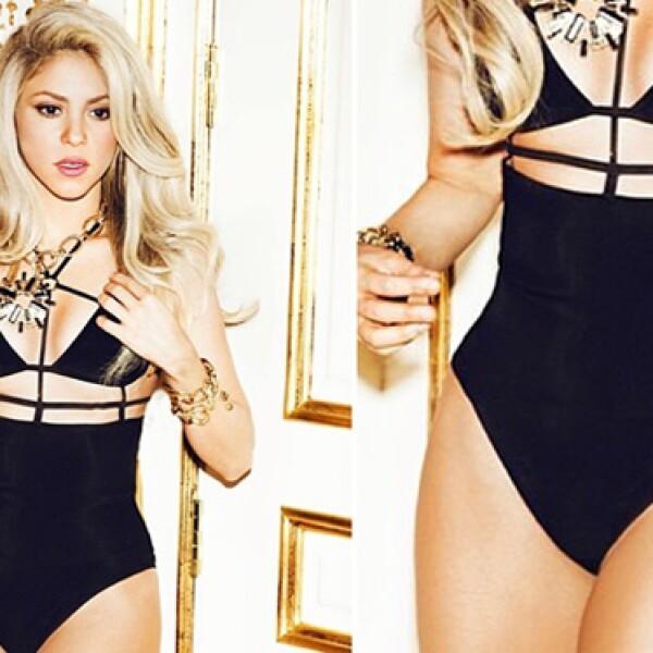 Shakira le debe su fama mundial a una parte de su cuerpo, y esta, obviamente son sus caderas.
