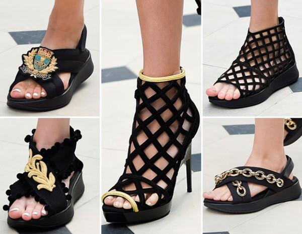 La nueva propuesta de Burberry en zapatos.