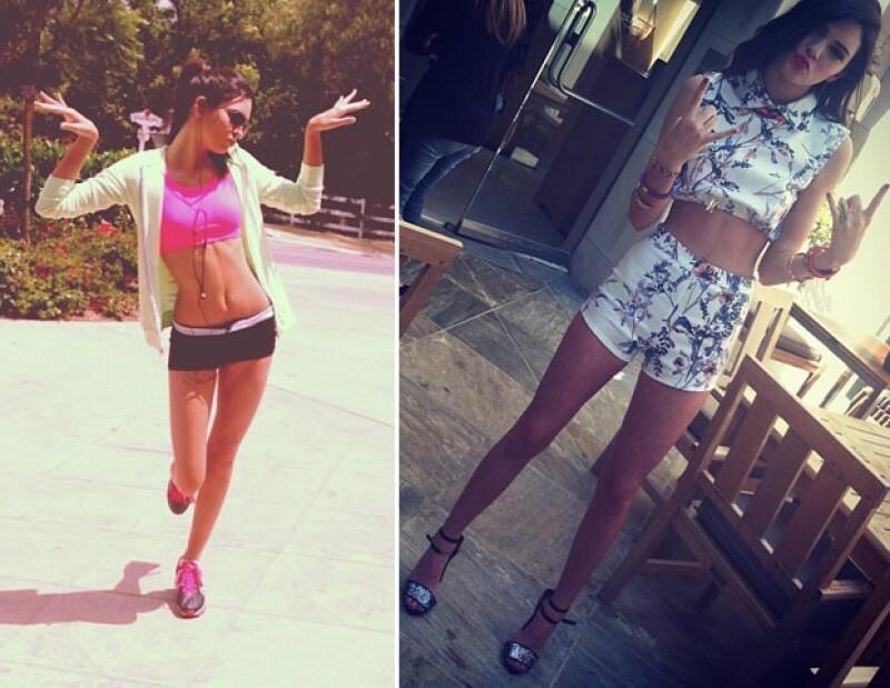 Kendall tiene 16 años y ya tiene un contrato de modelaje.