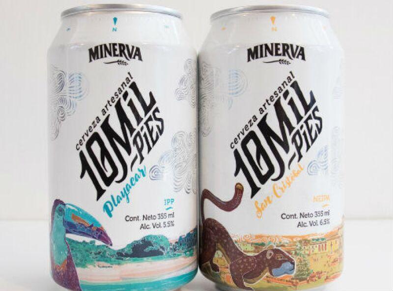 10 Mil Pies cerveza Minerva