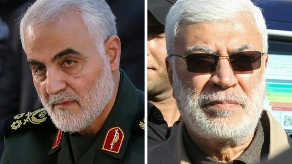 HO, Handout, Ahmad AL-RUBAYE, Ayman Henna, MEHDI GHASEMI, HAIDAR MOHAMMED ALI / AFP / ISNA / KHAMENEI.IR / IRANIAN SUPREME LEADER'S WEBSITE / AFPTV / IRIB