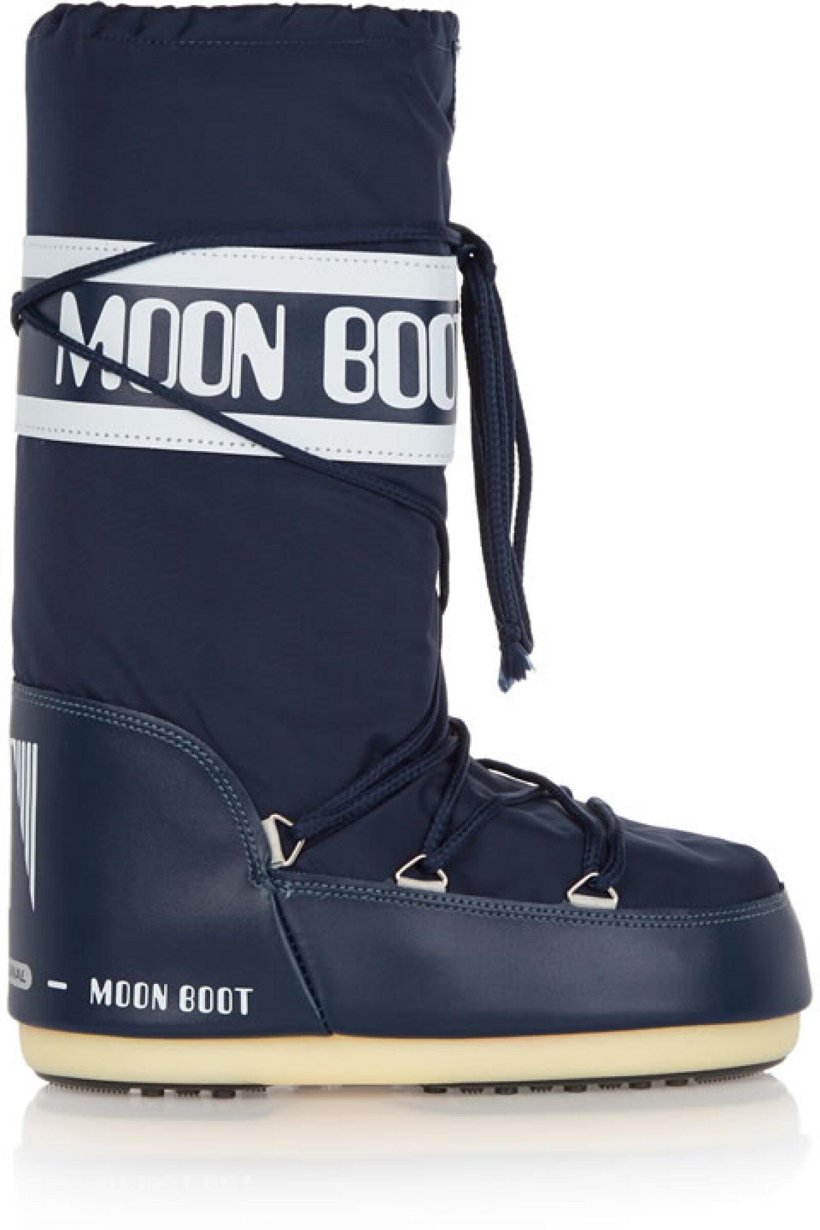 Unas moon boots son infalibles para la nieve, pues te ayudarán a que no te resbales ni le entre agua.
