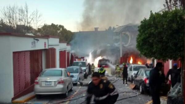 60 personas heridas fueron trasladados a diversos hospitales.
