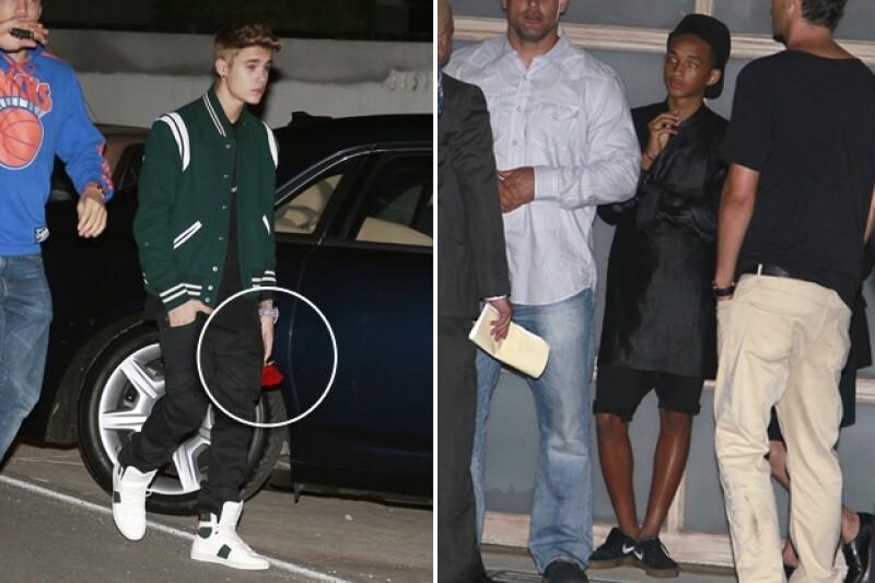 Justin Bieber, Jayden Smitth y Julianne Hough, entre otros, fueron captados llegando a la celebración por el cumpleaños número 21 de Selena Gomez.