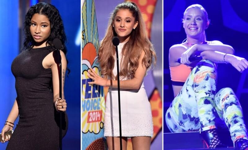 Este domingo no te pierdas la entrega de premios en la que Ariana Grande, Nicki Minaj e Iggy Azalea encenderán el escenario de la noche más pop del año.