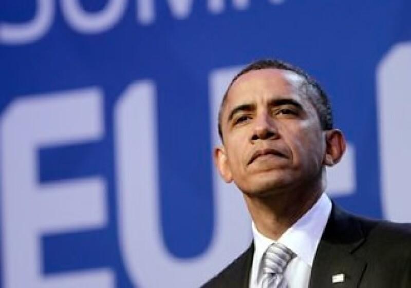 Barack Obama trata de aplicar medidas para combatir el déficit fiscal estadounidense.  (Foto: AP)