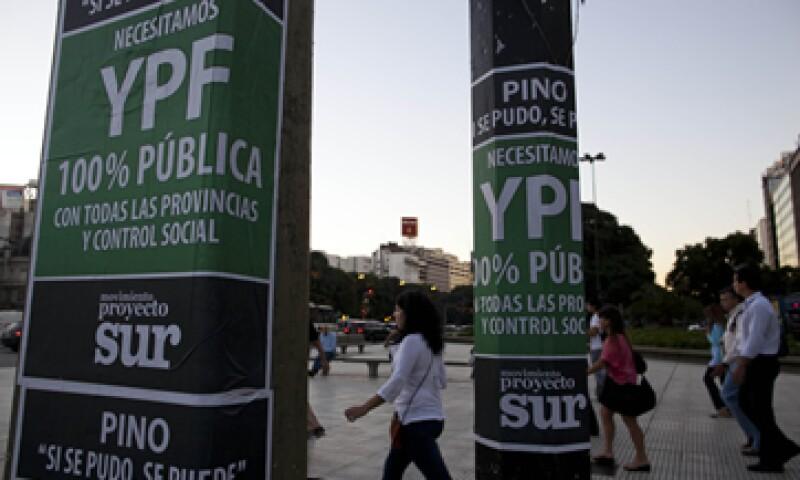 Argentina se ha negado hasta ahora a negociar con Repsol una compensación por la expropiación.  (Foto: AP)