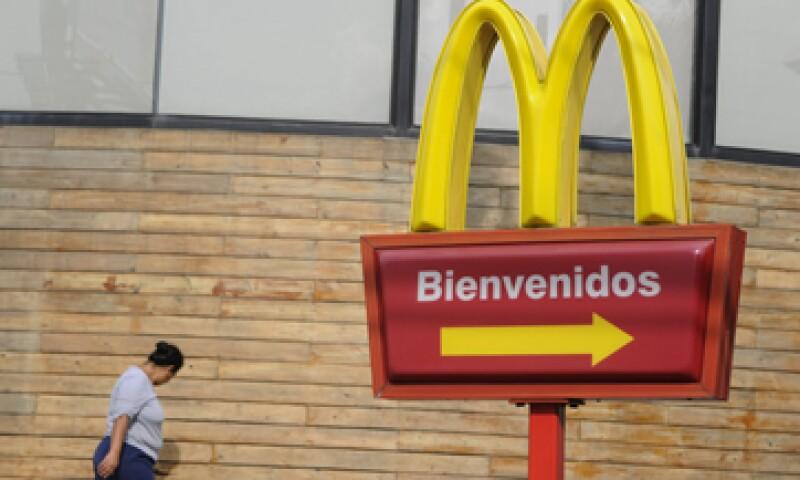 México es un país estratégico dentro de AL para la cadena de restaurantes. (Foto: EFE)