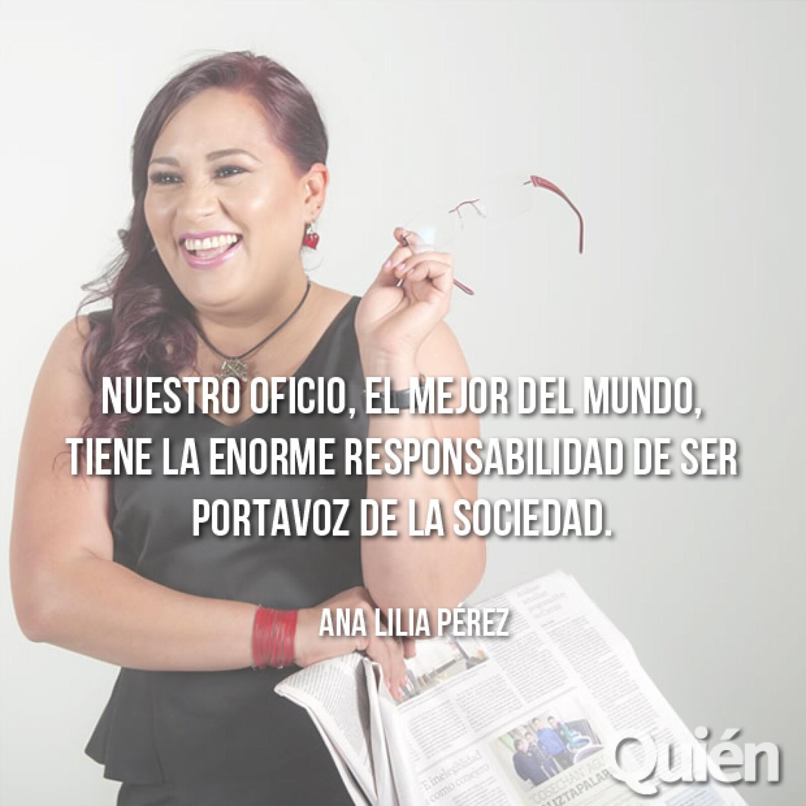 Ana Lilia Pérez, periodista y escritora. Mares de cocaína sacudió a la FIL 2014 y está en varias listas de best sellers.