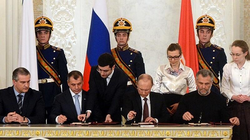 Vladimir Putin referendo Crimea