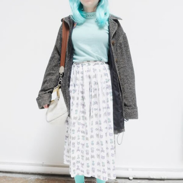 Fue criticada por faltar a la escuela para asistir a desfiles de moda en París y Nueva York.