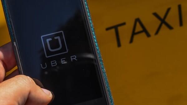 taxi Uber servicio aplicación