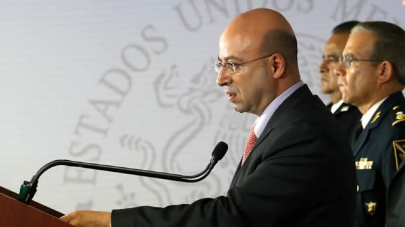Coordinador Nacional Antisecuestro, Renato Sales Heredia.