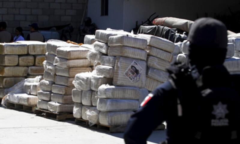 Los cárteles mexicanos dominan la introducción, distribución y venta de droga en EU, según la DEA. (Foto: Reuters )