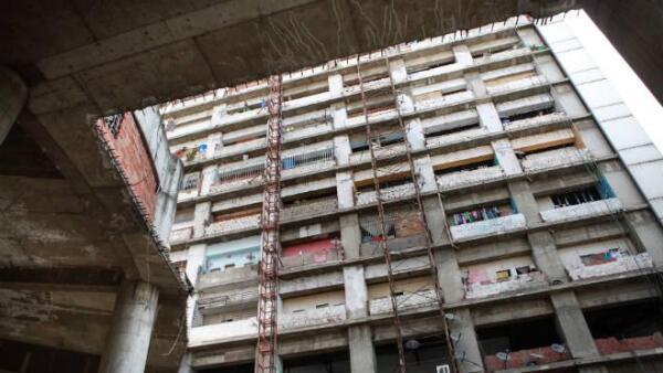 Desalojo de la 'Torre de David', el barrio vertical m�s alto del mundo