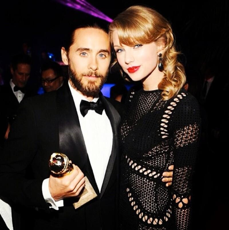 Jared también subió una foto con Taylor.