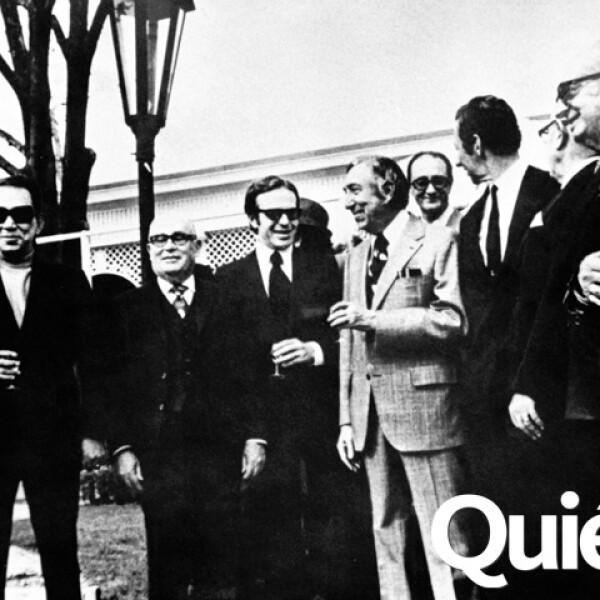 Con Mario Moreno Cantinfla y Manuel Alemán Velasco.